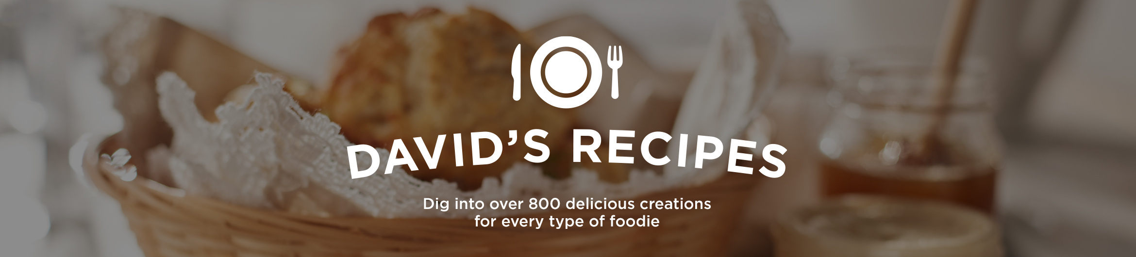 David's Recipes  Dig into over 800 delicious creations for every type of foodie