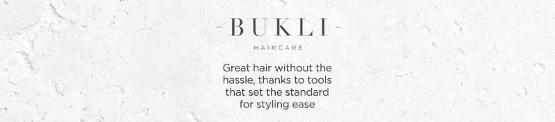 Bukli Haircare. Great hair without the hassle, thanks to tools that set the standard for styling ease