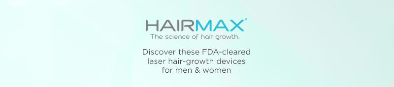 HairMax. Discover these FDA-cleared laser hair-growth devices for men & women