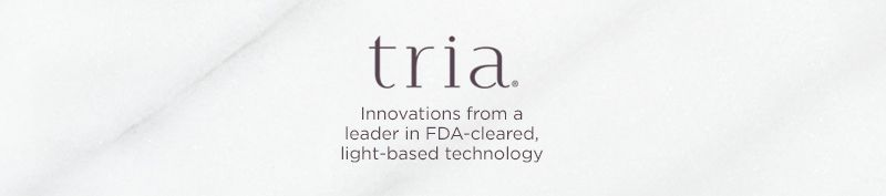 Tria. Innovations from a leader in FDA-cleared, light-based technology