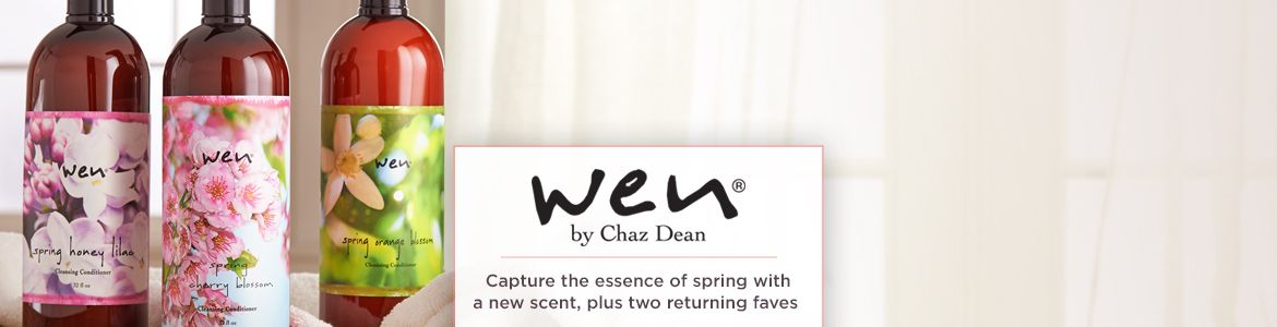 WEN® by Chaz Dean. Capture the essence of spring with a new scent, plus two returning faves