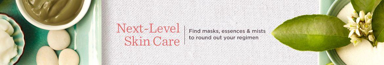 Next-Level Skin Care. Find masks, essences & mists to round out your regimen