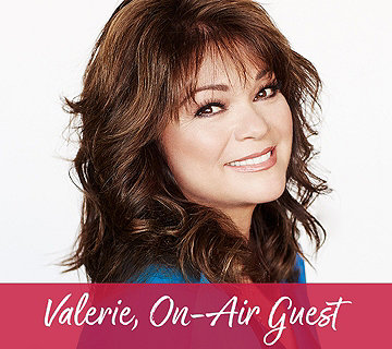 Valerie, On-Air Guest
