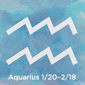 Aquarius 1/20–2/18