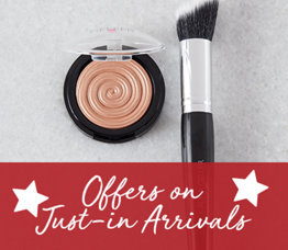 Offers on Just-in Arrivals