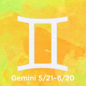 Gemini 5/21–6/20