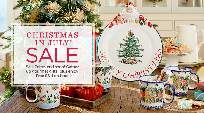 Christmas in July(R) Sale