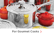 For Gourmet Cooks