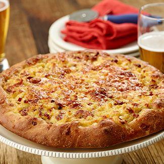 Bacon Mac & Cheese Pizza