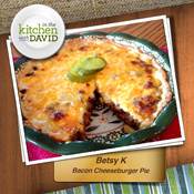 Betsy K.—Bacon Cheeseburger Pie