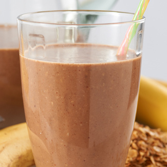 Chocolate Banana Breakfast Smoothie