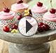 Cherry Sunshine Cupcakes
