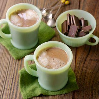 Chocolate Mint Hot Chocolate