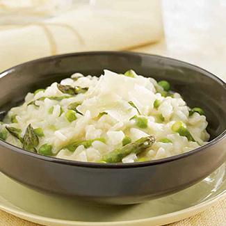 Asparagus Parmesan Risotto