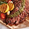 Flank Steak with Herb Pesto