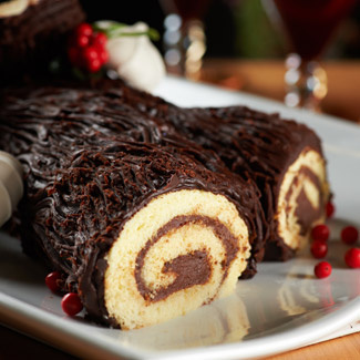 Christmas Yule Log (Buche de Noel)