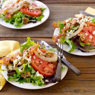 Grilled Vidalia Onion & Bacon Salad