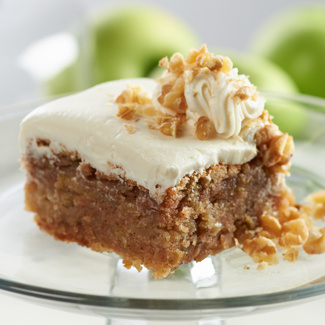 Harvest Apple Cake With Cream Cheese Frosting Jill