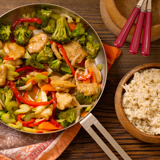 Healthy Chicken & Vegetable Stir-Fry