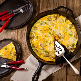 Healthy Meat Lovers' Frittata