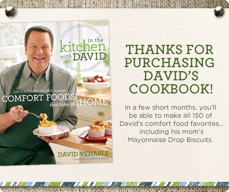 In the Kitchen with David: Comfort Foods That Take You Home