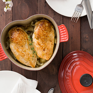 Fig & Goat Cheese-Stuffed Chicken Breasts