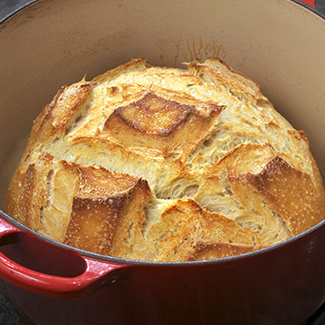 Cast-Iron Bread