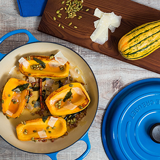 Maple Delicata Squash