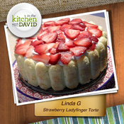 Linda G.—Strawberry Ladyfinger Tarte