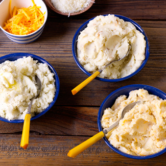 Mashed Potatoes Three Ways