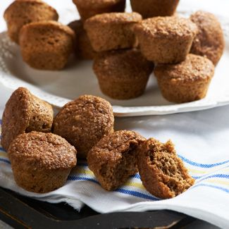 Mini Honey-Wheat Muffins