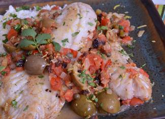Pacific Rockfish, Veracruz Style