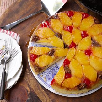 Pecan Pineapple Upside-Down Cake — David Venable's Recipes ...