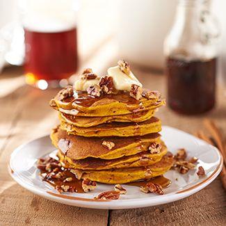 Pecan Pumpkin Pancakes