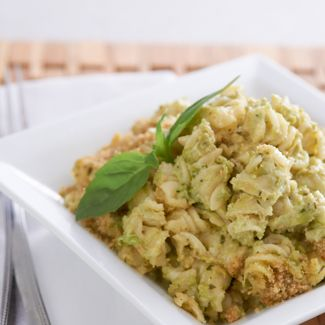 Pesto Mac and Cheese