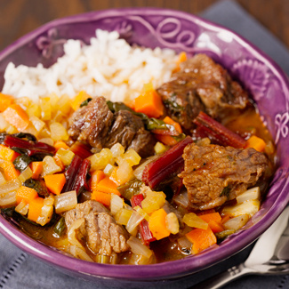 Pressure Cooker Beef and Rice