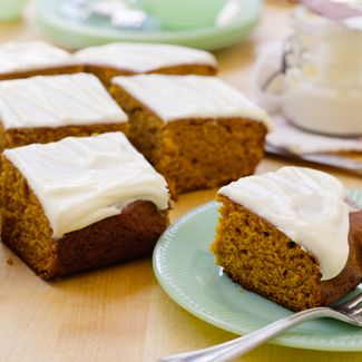 Pumpkin Bread with Cream Cheese Icing