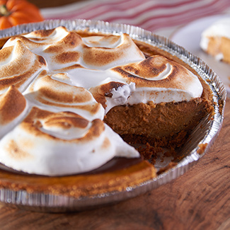 Pumpkin S'mores Pie