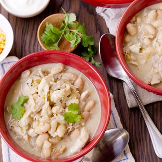 Savory White Bean Chicken Chili