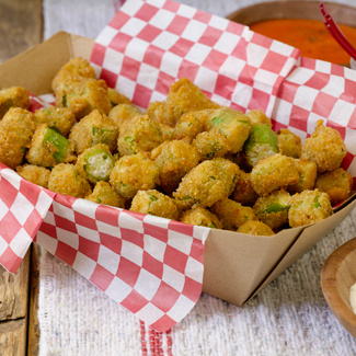 Southern-Style Deep-Fried Okra