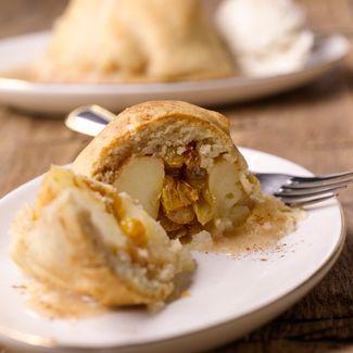 Spiced Baked Apple Dumplings