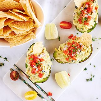 Summer Stuffed Avocado