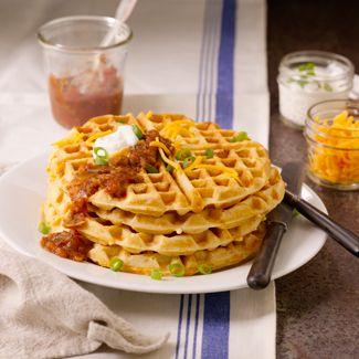 Tex Mex Savory Waffle