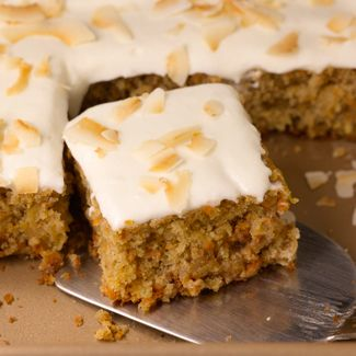 Recipe tropical carrot cake