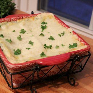 White Lasagna Alfredo