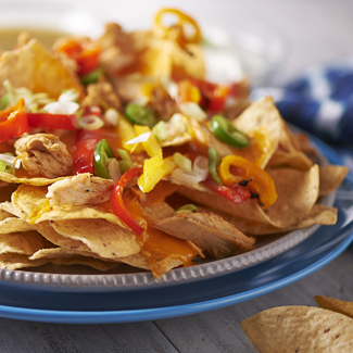 Pulled Chicken Nachos