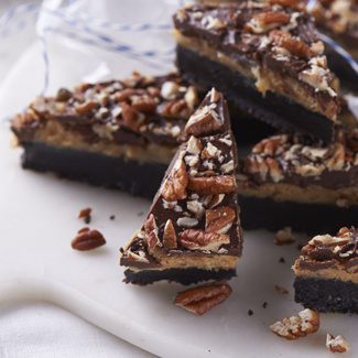 Chocolate Toffee Bars