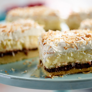 Chocolate Coconut Dream Bars
