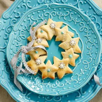 Mini Holiday Cookie Wreath