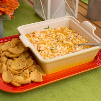 Easy Cheesy Corn Dip